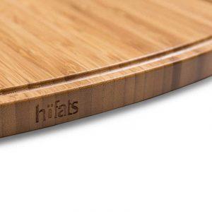 Närbild på Höfats Cone Board Avlastningsbord