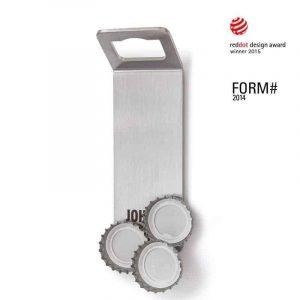 Höfats Johnny Catch Magnet Kapsylöppnare med Design Award-logga