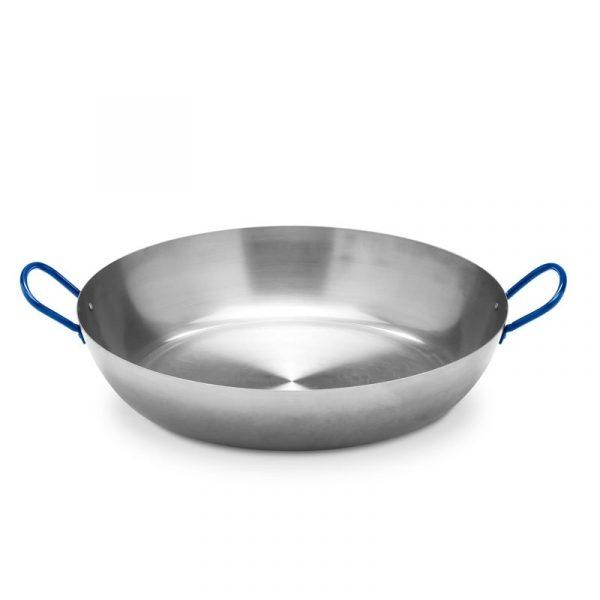 Vaello stek/wokjärn 40 cm i polerat stål