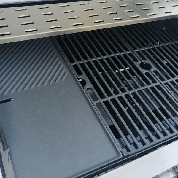 Bluegaz Z6 grillgaller och stekplatta