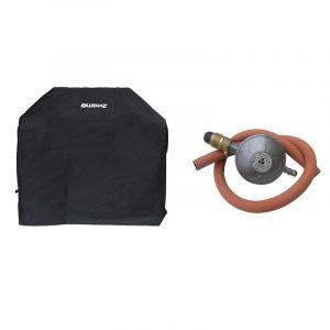 Bluegaz Z1 Startpaket med grillöverdrag och gasregulator