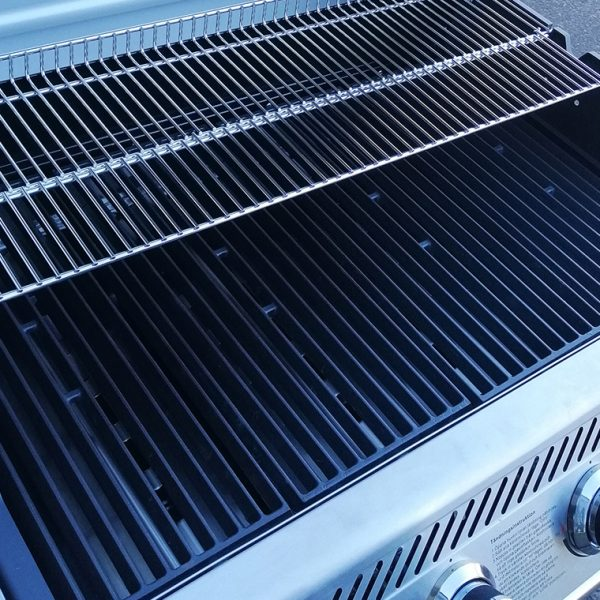 Bluegaz X1 Premium Classic grillgaller från sidan
