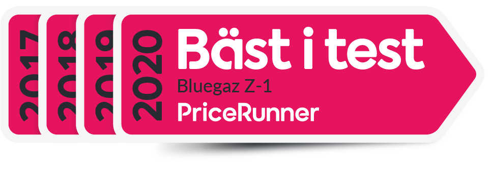 Pricerunner Z1 Bäst i Test 2017-2020 logga