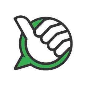 Z3 Bäst i Test logga som ger tummen upp