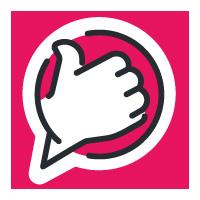 Z3 Pricerunner logga som ger tummen upp